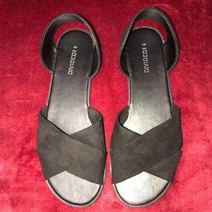 H&M open toe dress shoes